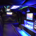 Challenger Stretch Limo Interior Florida