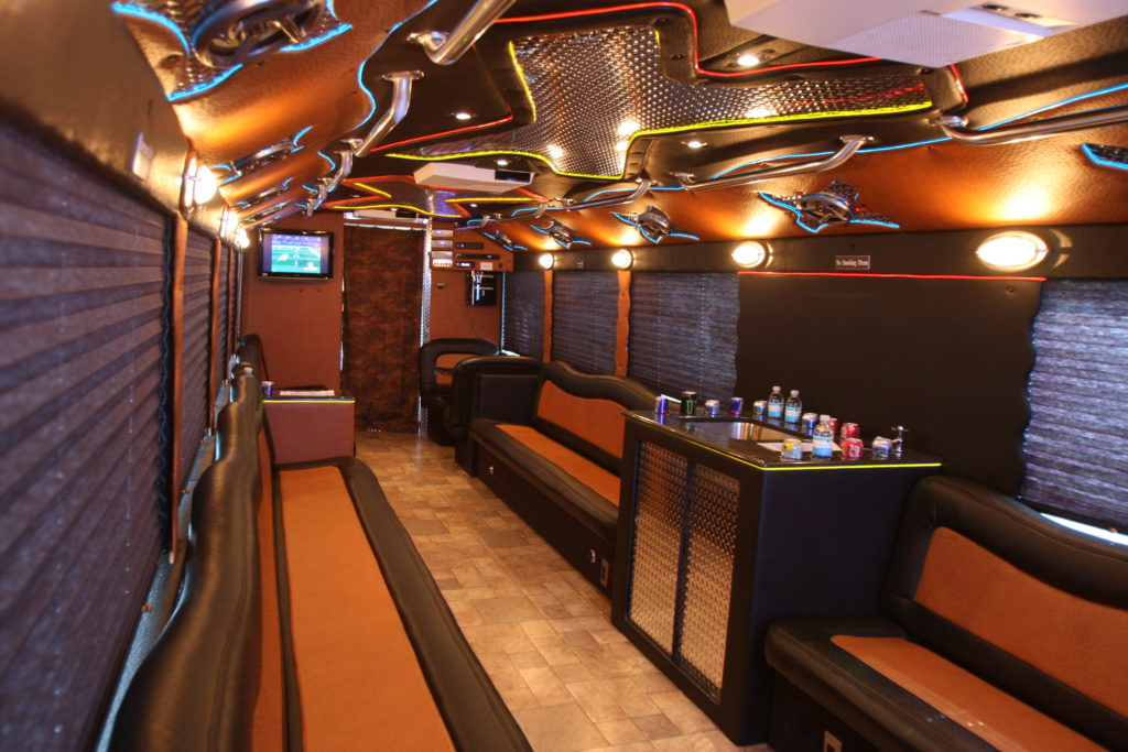 Extreme Party Limo Bus Clean Ride Limo